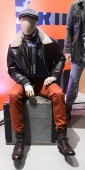Mannequin in a look from Dockers F+W 2012 pic 2
