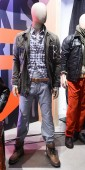 Mannequins in looks from Dockers F+W 2012 pic