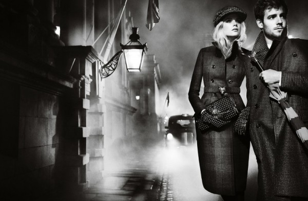 burberry autumn winter 2012 ad campaign featuring gabriella wilde and roo panes (1) copy