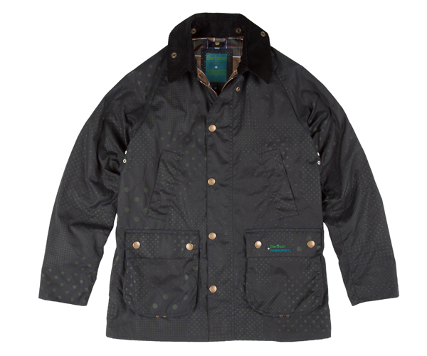 Barbour-Newbold jacket front