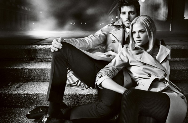 burberry autumn winter 2012 ad campaign featuring gabriella wilde and roo panes (4)