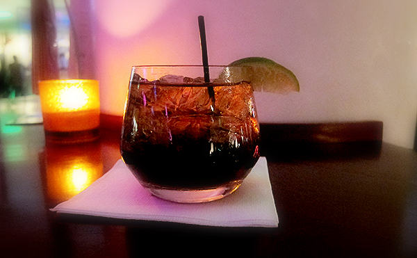 Bacardi and Coke