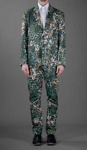 HENRIK VIBSKOV PRINT SUIT FAR FETCH