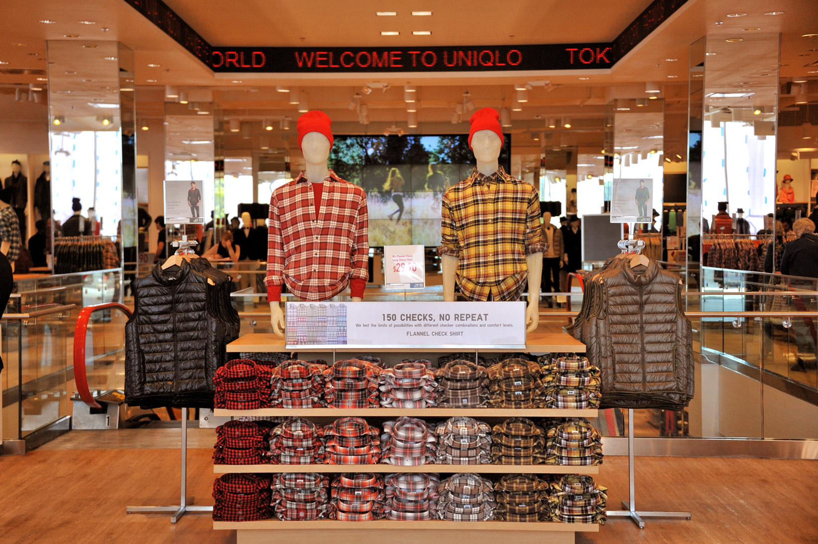 Uniqlo garden state plaza opens todayessential homme magazine for Is garden state plaza open today
