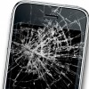 Cracked iPhone Screen ClearPlex