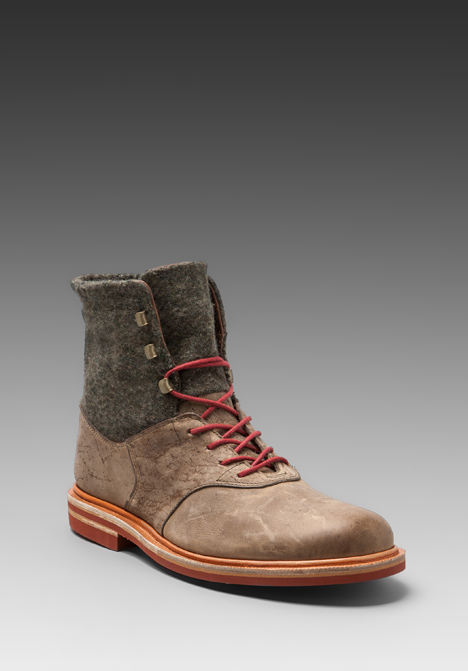 J Shoes Limited Edition Bowden Army Blanket Boot