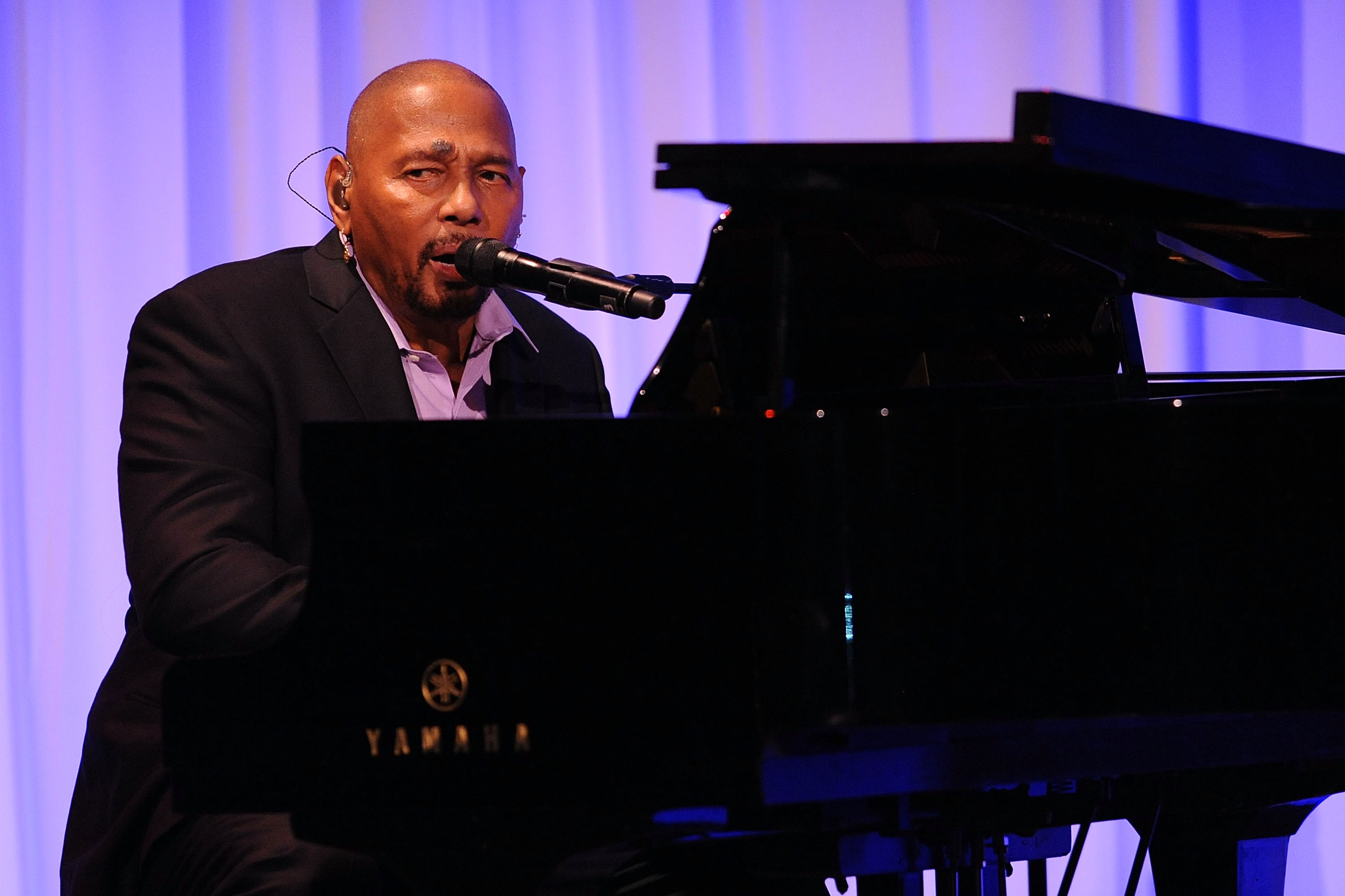 Aaron Neville plays at the 2012 DOE Fund Gala at Cipriani 42nd Street on October 25, 2012 in New York City. Courtsey shaharimages.com
