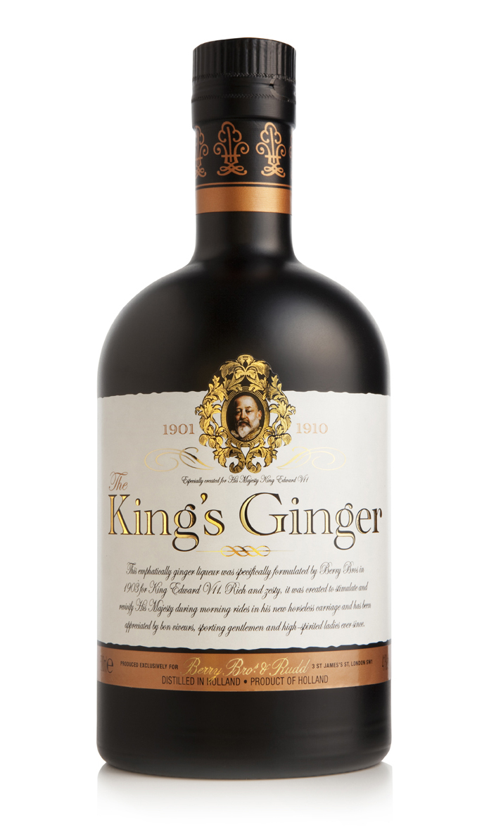 The Kings Ginger Thanksgiving spirits