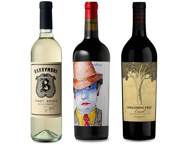 celebrity wine barrymore coppola dave matthews