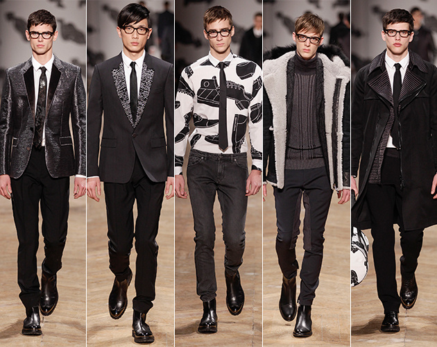 Vikor & Rolf Fall 2013 Menswear Paris fashion week runway models jules vern journey to the center of the earth