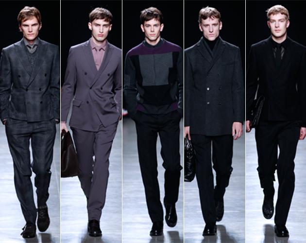 Bottega Veneta Fall 2013 Menswear runway pitti uomo male models