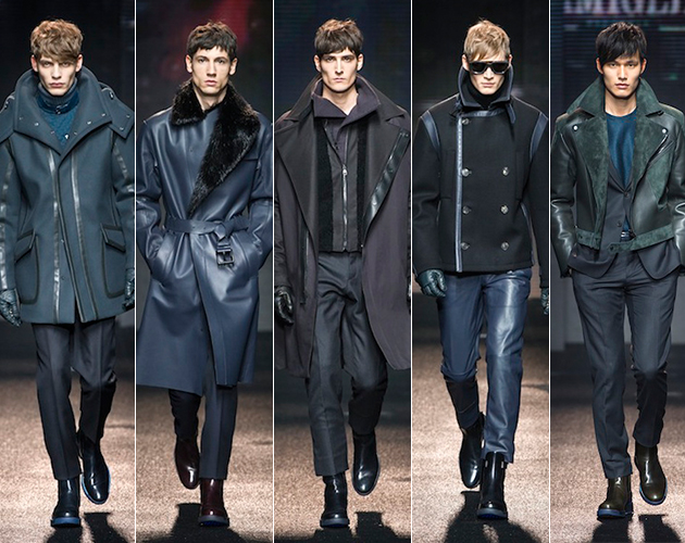 Ferragamo Fall 2013 Menswear runway models pitti uomo