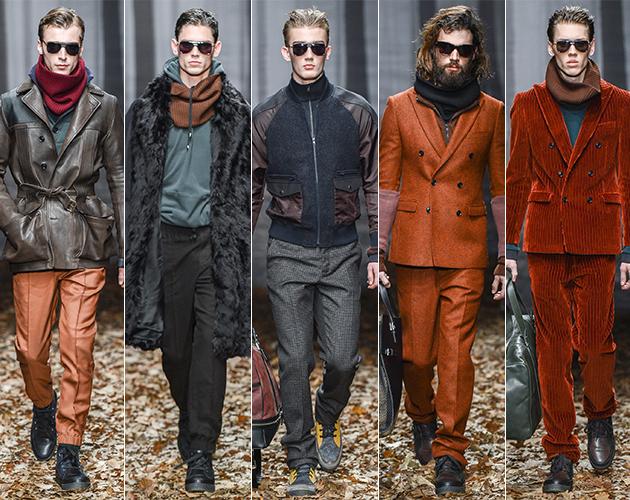trussardi men's fall 2013 runway pitti uomo designer Nicola