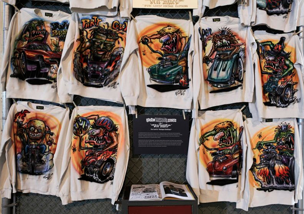 Levi's Vintage Clothing Hot Rod Exhibition New York London Berlin Tokyo Von Franco Fender Custom Monster Kustom Cars Buy Sale Purchase Limited Edition Jean Jacket Denim Brooklyn