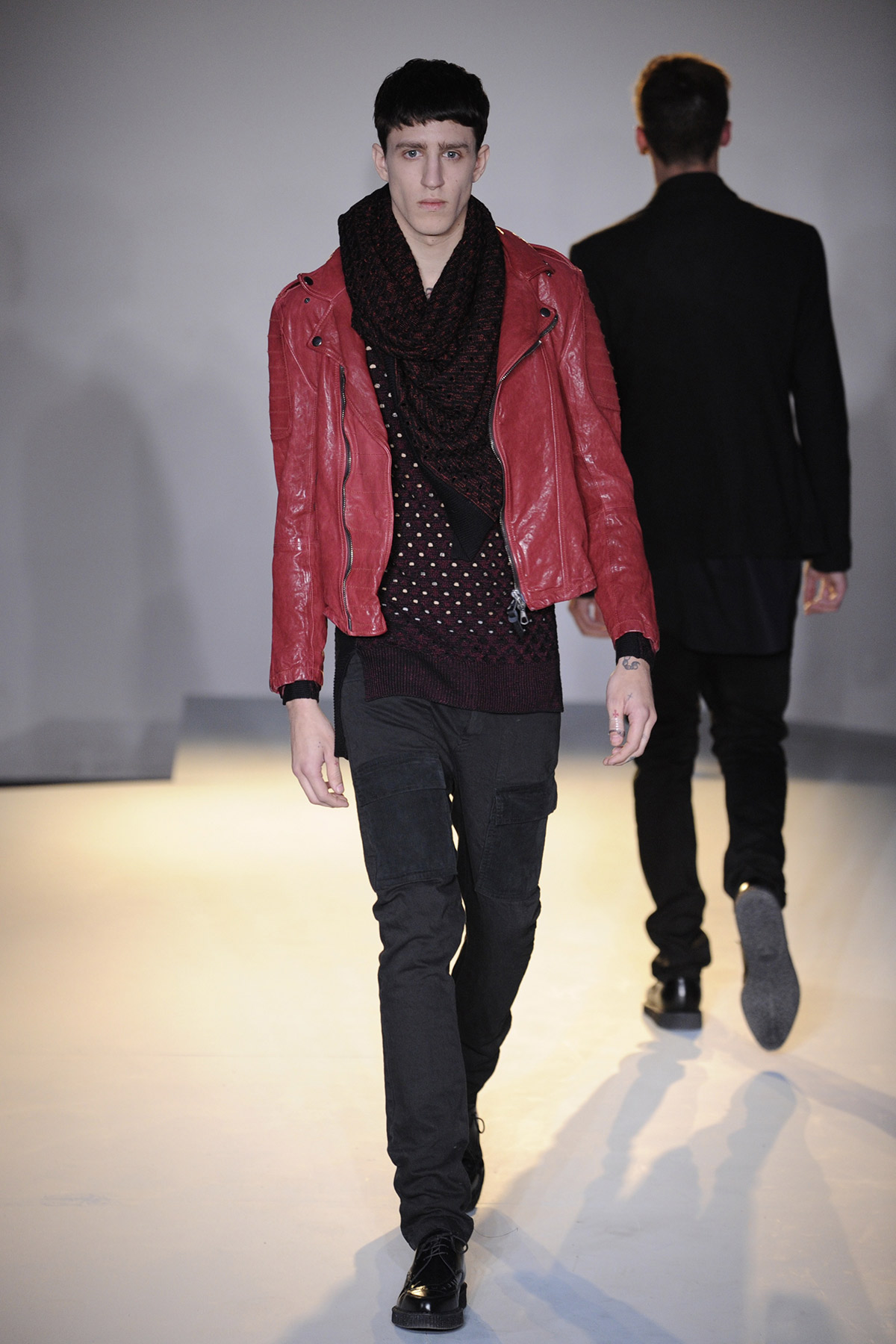 Edun Fall 2013 menswear runway fashion show models bono africa