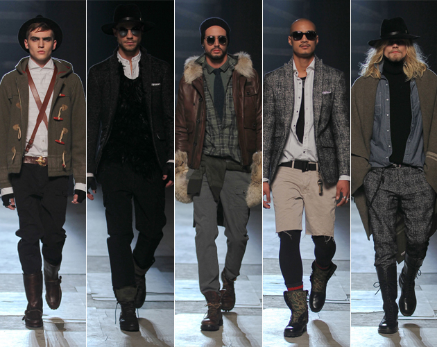 Michael Bastian Fall 2013 Menswear New York Fashion Week Models favorite five