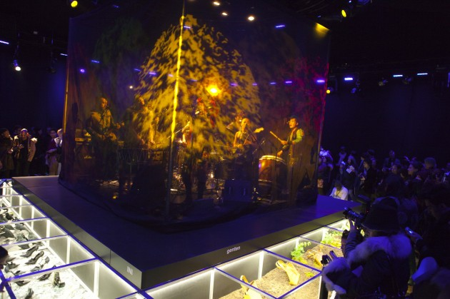 genten, Hender Scheme, INI, Kenji Amadana, Ed Robert Judson, Blackmeans, e.m., Sasquatchfabrix. Lincoln Center New York Fashion Week Turtle Island Presentation