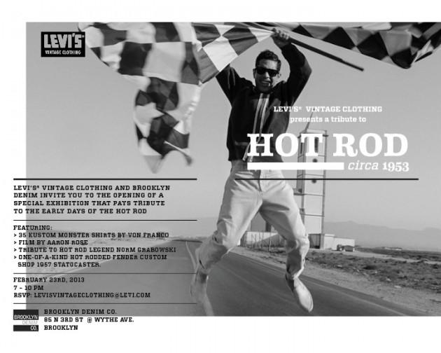 Levi's Vintage Clothing Hot Rod Von Franco Fender Custom Brooklyn Denim Exhibition Sale Buy Purchase Limited Edition Jean Jacket