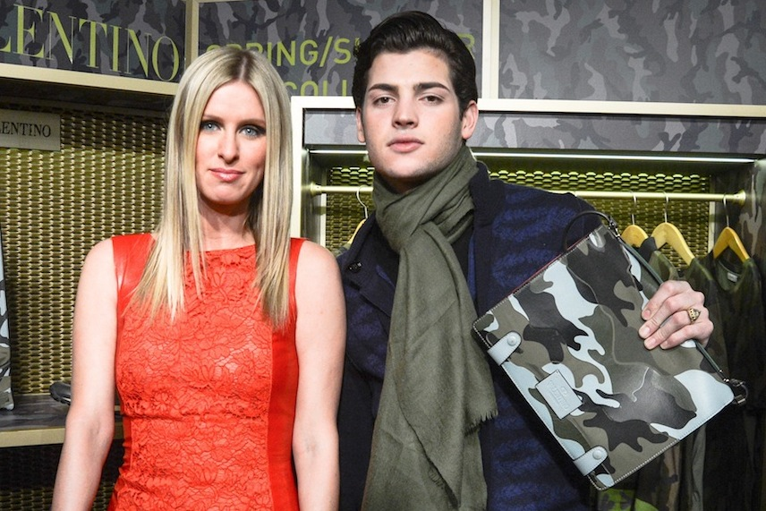 VALENTINO camouflage jeffrey new york launch event nicky hilton peter brandt sale buy purchase exclusive new york fashion week