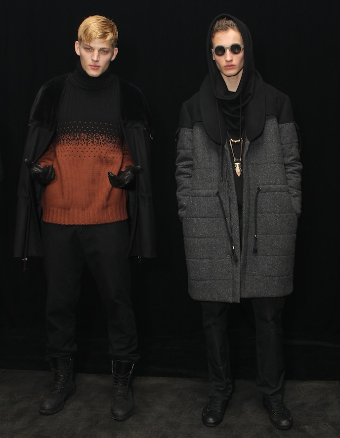 Rochambeau Fall 2013 Menswear Fashion Week New York Milk Presentation