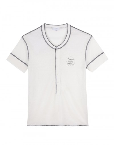 Sandro Spring 2013 menswear paris baseball jersey varsity sale buy purchase discount designer trend