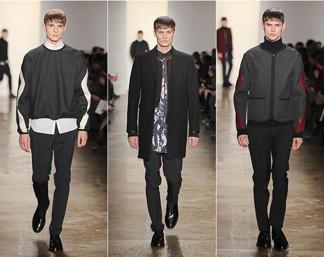 Tim Coppens Fall 2013 Menswear runway fashion week new york milk acid in my heart