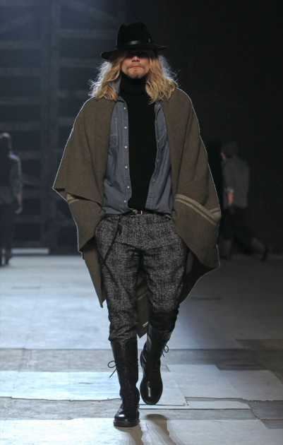Michael Bastian Fall 2013 Mens Runway Fashion Week New York