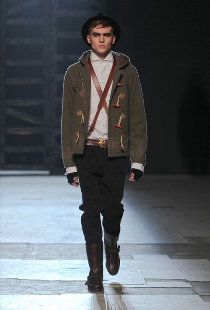 Michael Bastian Fall 2013 Mens Runway Fashion Week New York
