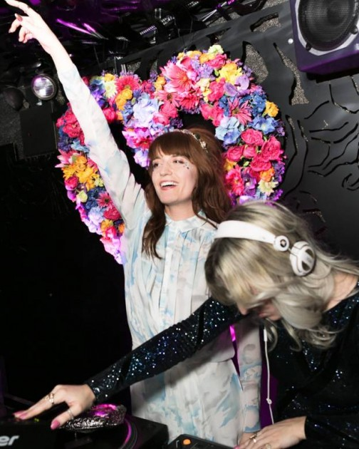 W Hotel Luvs Beach luv luv luv records bleach florence welsch florence and the machine alexa chung tennessee Thomas lilium