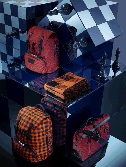 Louis Vuitton Damier Pattern Canvas Print Spring 2013 Nylon Water resistant leather goods wallets backpacks bags travel baggage luggage heritage history