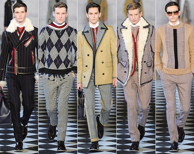 Tommy Hilfiger Fall 2013 Menswear runway show presentation collection nutter saville row buy sell purchase
