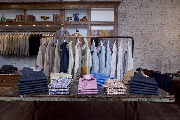 Carson Street Clothers location opening launch brands hours soho new york
