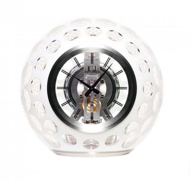 Atmos Hermes Jaeger-LeCoultre Les Cristalleries de Saint-Louis clock bubble luxury release price cost buy purchase