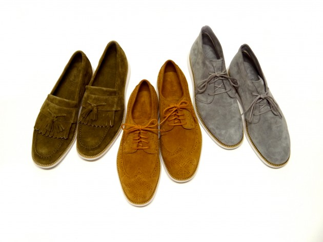 Cole Haan LunarGrand Dover Street Market Ginza 1st Anniversary First Collection Kudu Suede tanned leather chukka wing tip tassle loafer spring 2013 launch date release price buy retail find
