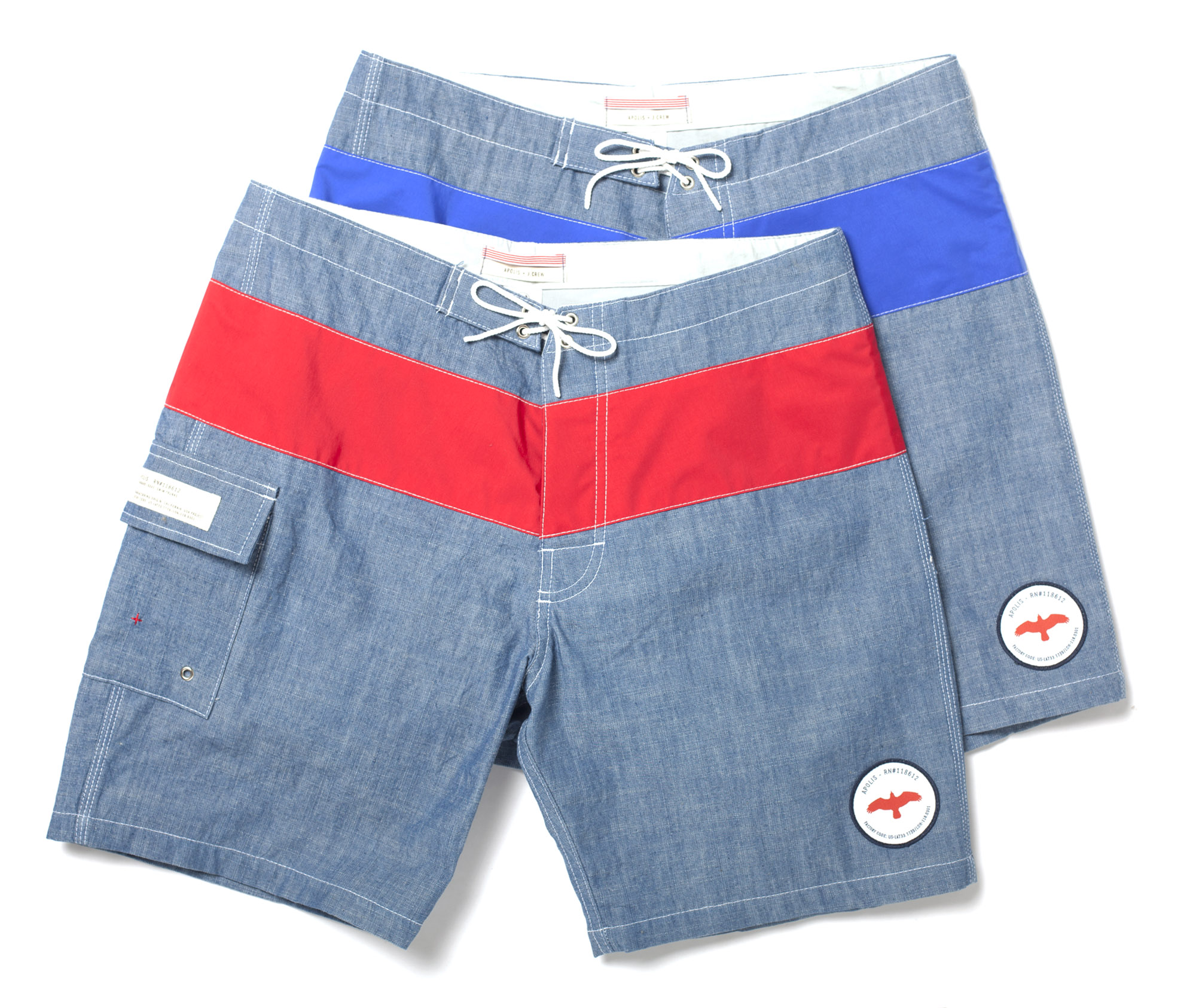 Apolis J.Crew Swim trunks shorts collaboration surf retro price cost sale price buy store retail release stylish mens