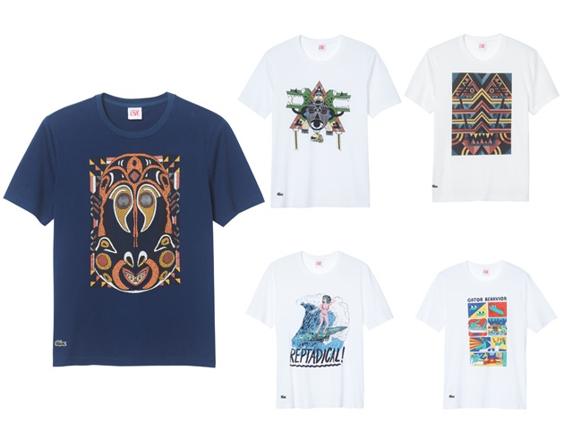 7900670a4fa Lacoste L!ve Capsule Collection of T-Shirts for Spring 2013Essential ...