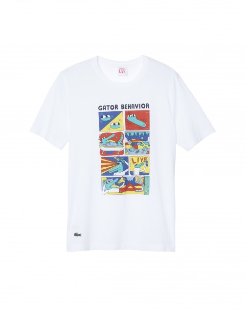 Lacoste L!ve Andy Rementer Sale purchase buy sell retail launch release discount