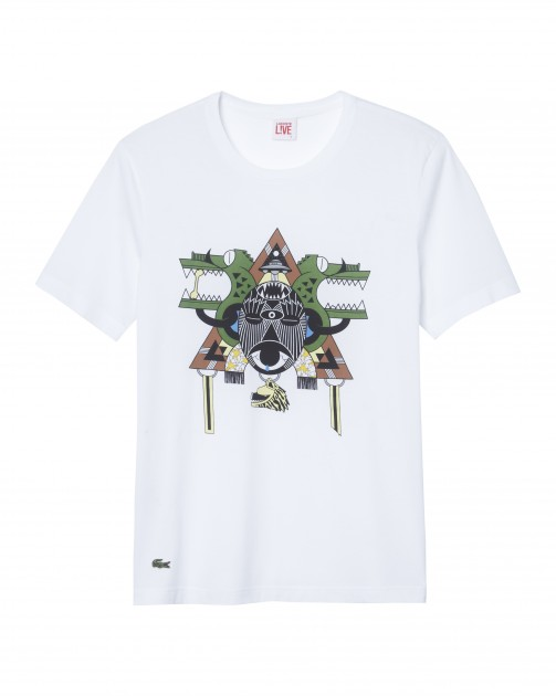 Lacoste L!ive Honet t-shirt design buy purchase sell find retail launch discount