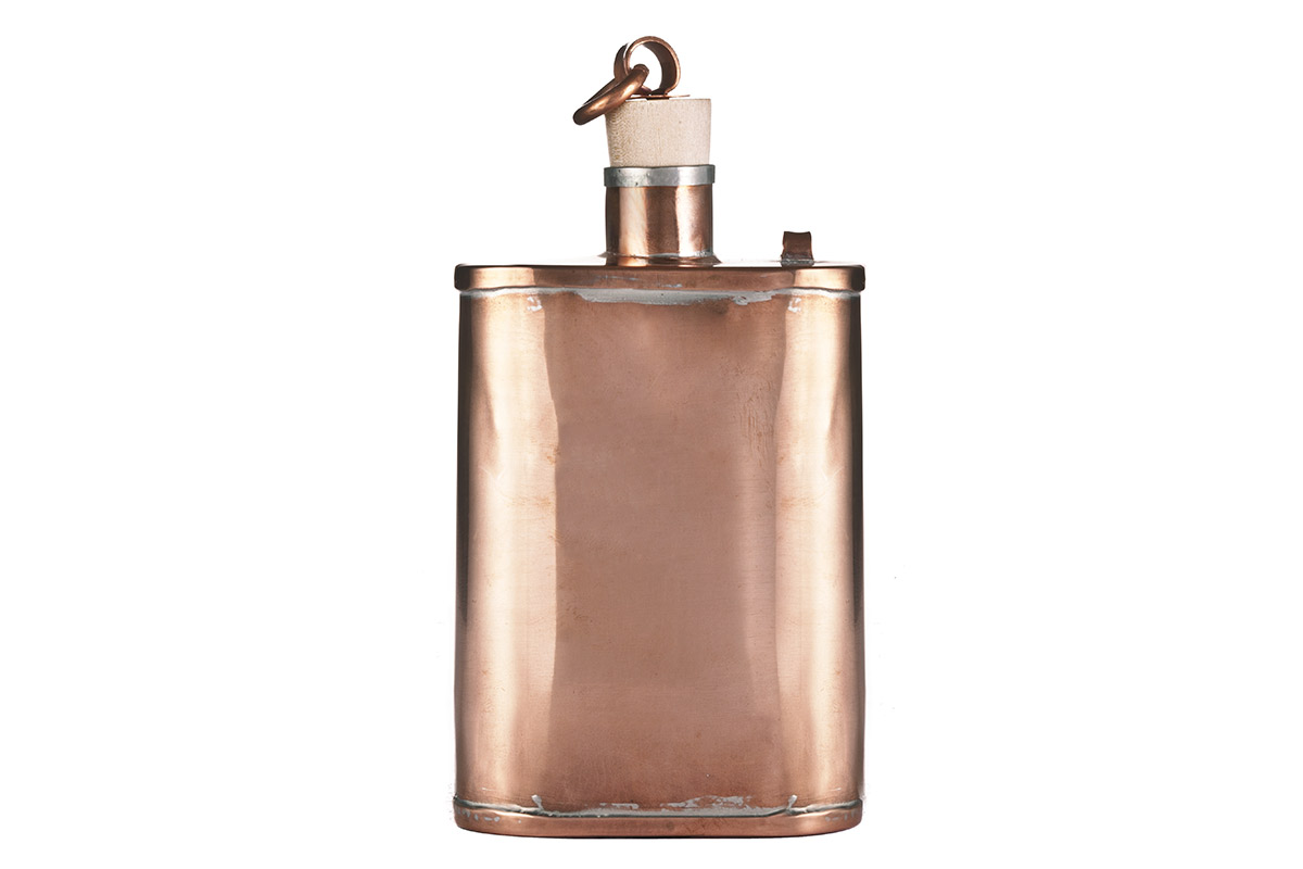Kaufmann Mercantile Handmade Copper Flask buy sale price purchase retail store wash daniel boone
