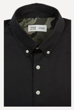 frank & oak lunice capsule collection shirt camo launch release price cost store retail find