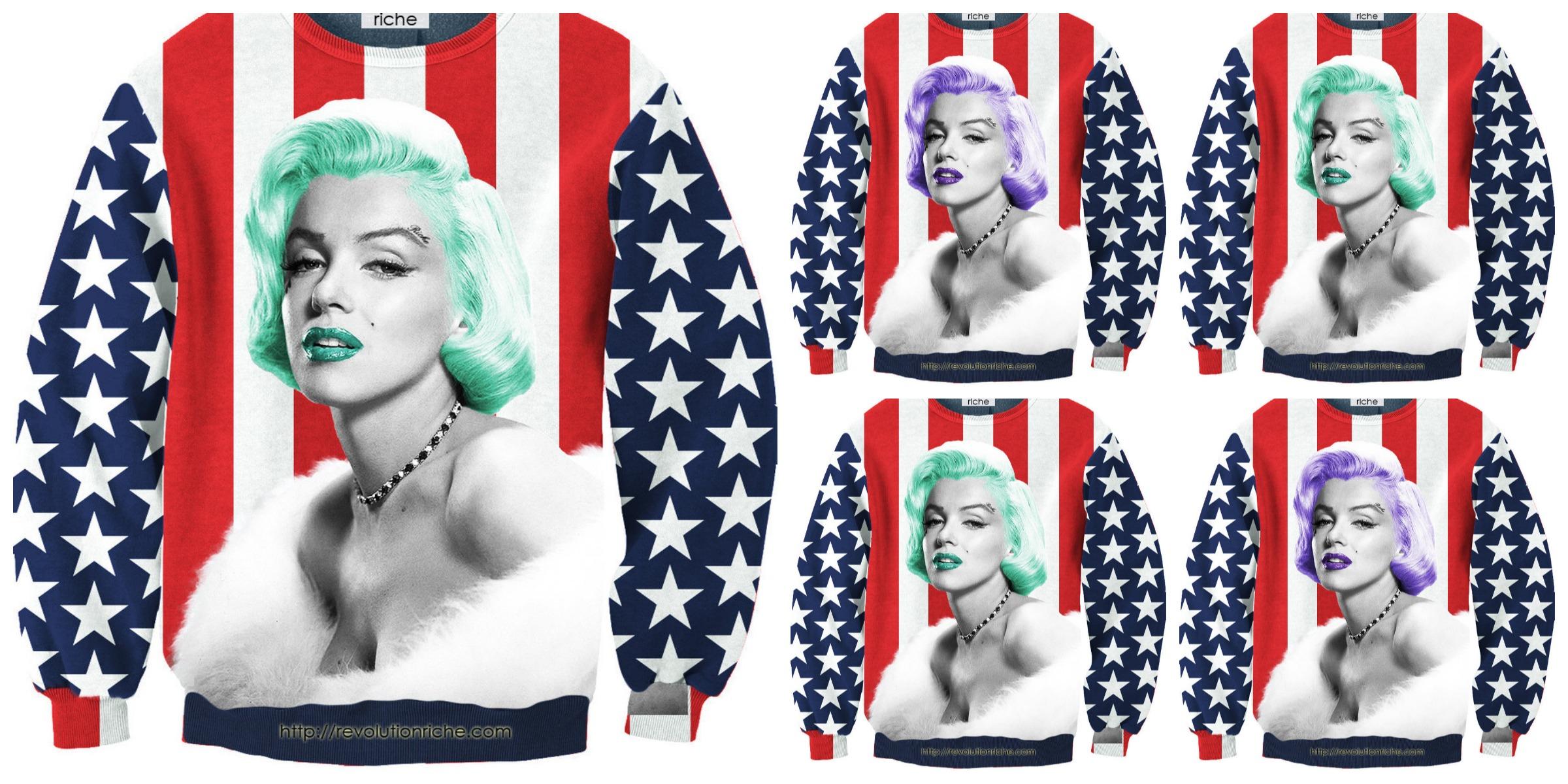 Marilyn Monroe Sweater