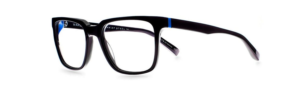 Superman glasses Clark Kent glasses Warby Parker Man of Steel Movie Style