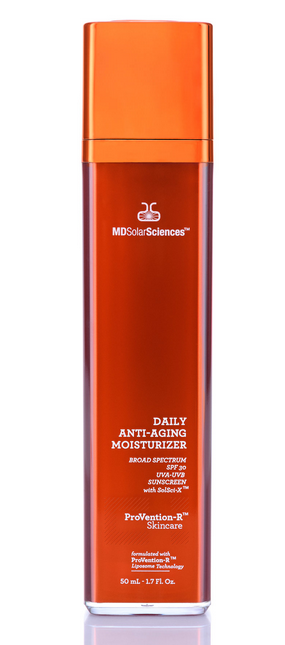 MD Solar Sciences Daily Anti Aging Moisturizer Broad-Spectrum SPF 30 UVA UVB Protection avobenzone