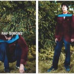 Raf Simons Fall Winter 2014 ad campaign antwerp park Willy Vanderperre and stylist Olivier Rizzo