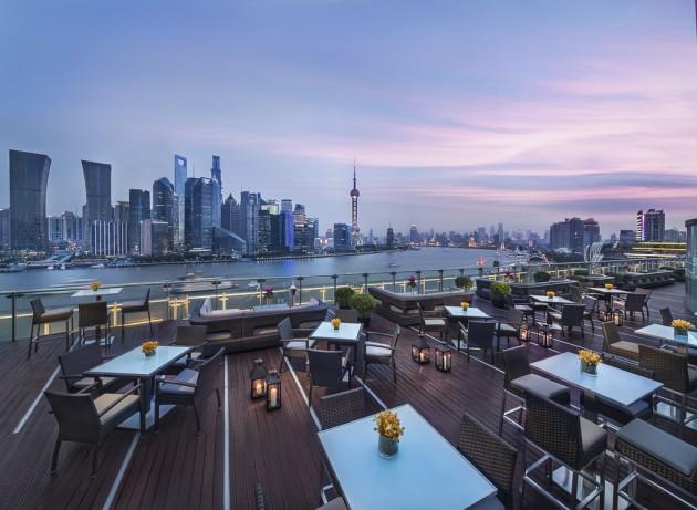 Banyan Tree Shanghai on the Bund Tops Rooftop bars best china