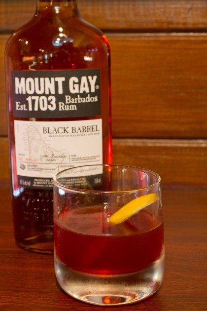 Mount Gay Black Barrel Rum Manhattan Rum