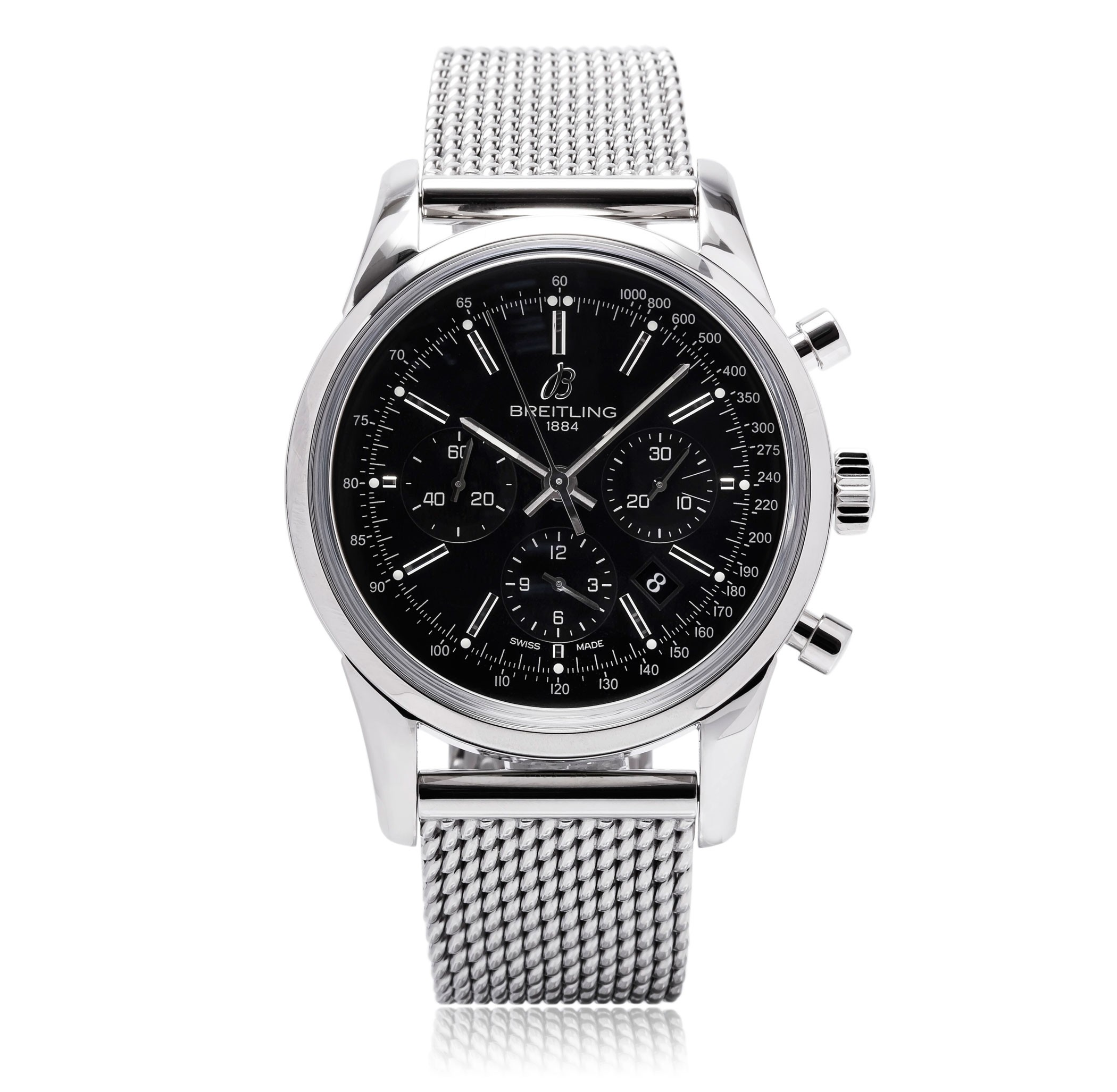 Breitling Transocean Black Face Luxury best mens watches