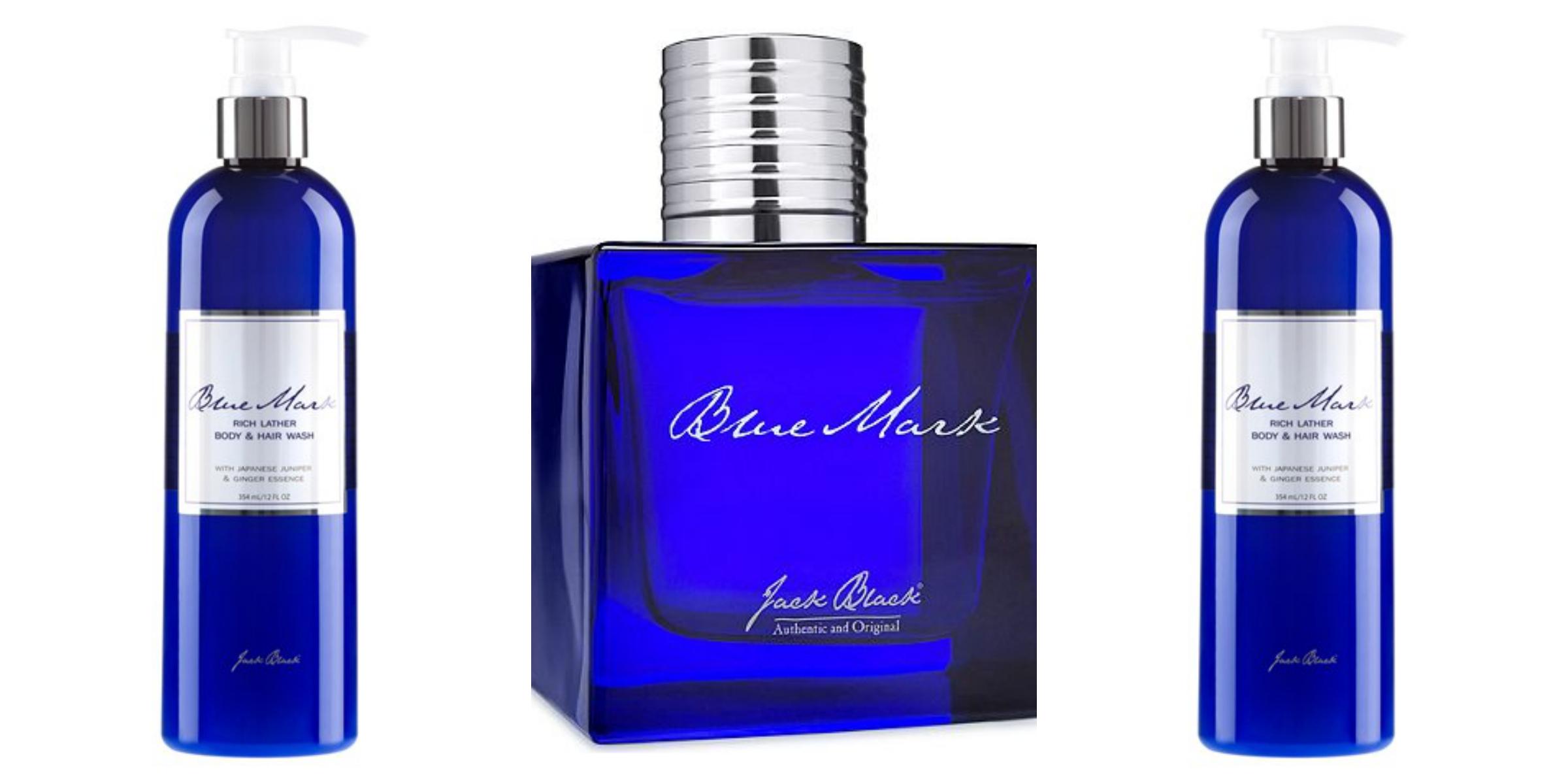 Jack Black Blue Mark Mens cologne new holiday