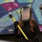 Don't Judge: Lindsay Lohan and Billy Eichner Destroy a Car