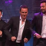 Three Man Band Hugh Jackman, Michael Fassbender, and James McAvoy Dance to 'Blurred Lines'
